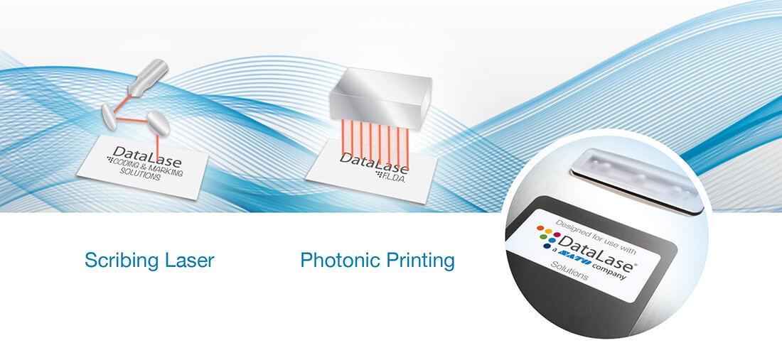 laser ablation printing